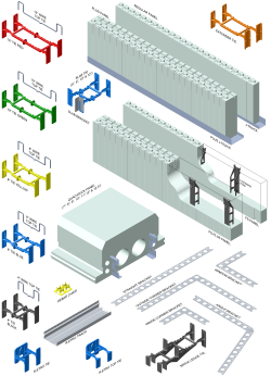 Quad-Lock System Components - Click for high resolution